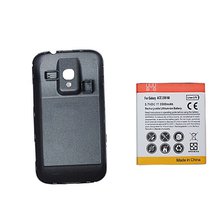 Replacement  Battery  For Samsung Galaxy Ace 2 GT-i8160 i8610 Extended Cell Phone Battery with Back Cover Bateria  3500mAh