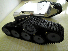 T30p Wall-e/ tank smart car chassis/ tracked cars, DC motors and metal structure,remote control smart car parts