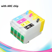 T1351 T1332 T1333 T1334 South America for Epson T25 TX123 TX125 TX133 TX135 Refillable ink cartridge with ARC chip