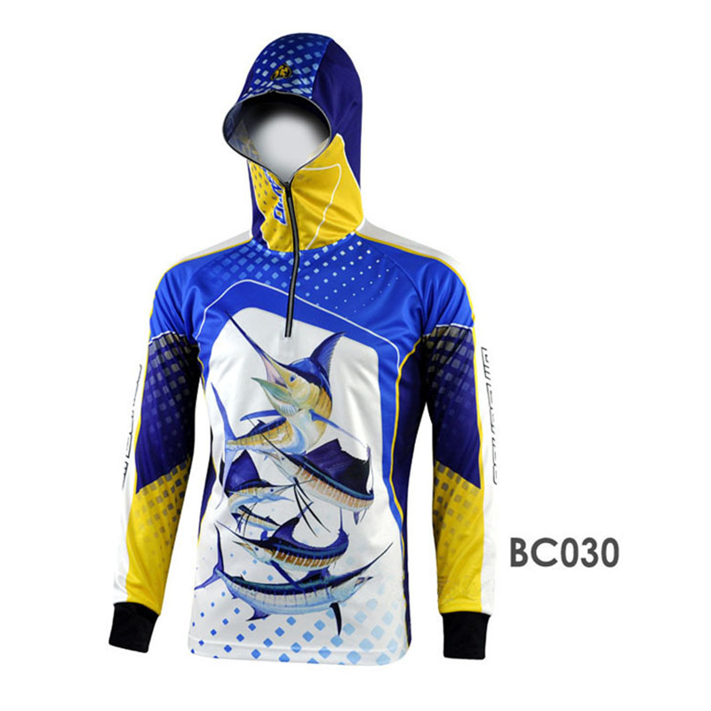 blue red yellow white black camping hiking jersey shirt long sleeve ykk zipper hoody hiking jersey<br><br>Aliexpress