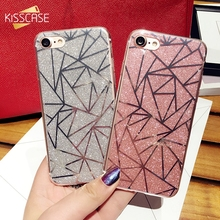 Buy KISSCASE Glitter Silicone Cases iPhone 6 6s 7 Girly Mobile Phone Case iPhone 7 6s 6 Plus 6 Flash Powder Back Cover Coque for $2.99 in AliExpress store
