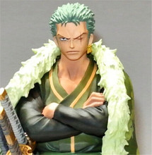 "Hot New Action 17cm Anime One piece 15th Roronoa Zoro Figure PVC 6.7"" Collection Hobby Movable Movie Model Doll Gift Cosplay Toy(China)"