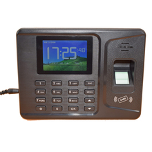 2.8 Inches TFT Display 1000 Users TCP IP USB Rfid Fingerprint Time Attendance