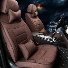 Luxury Seats Cushion Set for Lincoln MKX Accessories 2008 Car Seat Covers for Cars Seat Support Cushion Cover Protector Styling