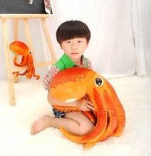 Free Paul Octopus Plush Toys Dolls the cute Pillow Seat Cushion Backrest the stuffed toys for children Christmas gifts(China)