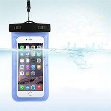 Universal Phone Bags Pouch with Strap Waterproof Cases Covers for iPhone 6 5S 6S 7 Plus Case Cover Swimming waterproof bag