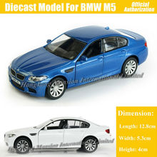 1:36 Scale Diecast Alloy Metal Sports Car Model For TheBMW M5 Collection Model Promotion Sound & Lights Pull Back Toys Car
