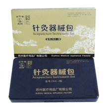 Genuine Hua Tuo non-disposable acupuncture needles Chinese acupuncture instrument set with 18 different size(China)