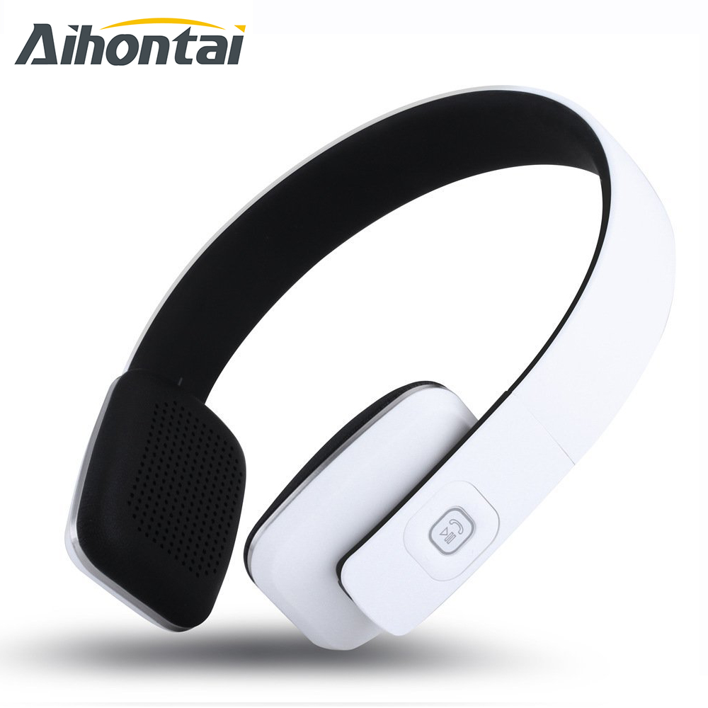 Aihontai Original LC-8600 Bluetooth Headset Stereo Headset stereo headphone sport earbuds HIFI Bass earpods For iphone samsung<br><br>Aliexpress