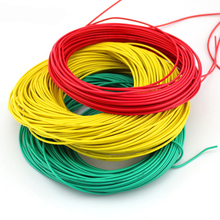 Multicolored wire cable / thin wire / red, black, green and blue lines / 2mm copper stranded/ DIY toy accessories/technology mod