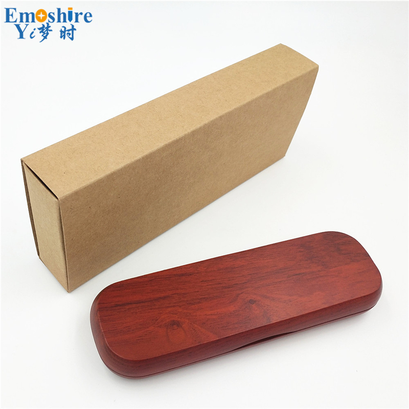 Emoshire (7) Imported pear mahogany signature pen suit boutique mahogany natural character high - end business gifts custom