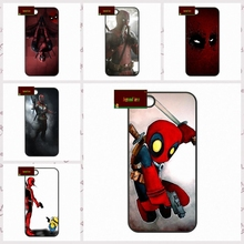 Humorous Superhero Deadpool Cover case for iphone 4 4s 5 5s 5c 6 6s plus samsung galaxy S3 S4 mini S5 S6 Note 2 3 4 UJ0414(China)