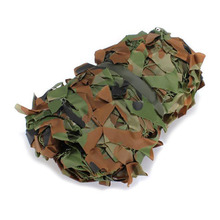 5pcs( 2m x 1.5m Shooting Hide Army Camouflage Net Hunting Oxford Fabric Camo Netting