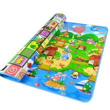 Crawling Pad Baby Kid Toddler Crawl Play Game Picnic Carpet Multi-color Letter Alphabet Mat Baby Play Mat 200x180cm