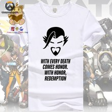 New Game character Hanzo shadow same as official tee shirt men's t shirt game fans gift AC112(China)