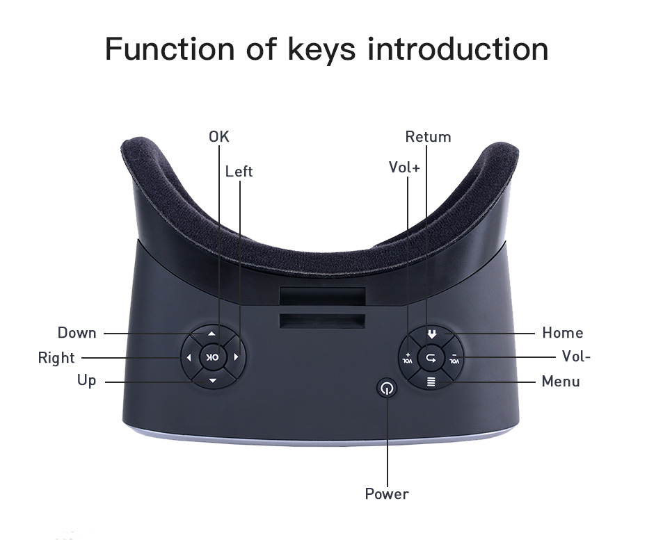 vr headset vr glasses virtual reality for pc HDMI All In One virtual glasses for computer VM06_14