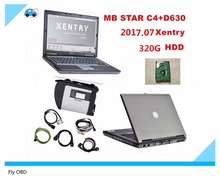 D630+MB Star C4 SD Connect + HDD 2017.07 Xentry Diagnostics System Compact 4 Mercedes Diagnostic Multiplexer For Benz Diagnose