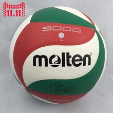 Official Size 5 Molten V5M5000 Volleyball Ball Soft Touch PU Volleyball Volei Volley Ball For Volleyball Training Handball Ball