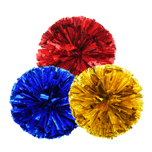 40g,1-12pieces,22colors,cheerleading pom poms Cheerleader pompon,Football game cheerleading pom pon Cheerleading cheer supplies