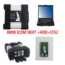 Promotion For BMW ICOM NEXT A+B+C 2016 New Generation OF ICOM A2 with 2017.02 500GB Software and CF52 Laptop High Quality
