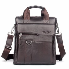 Real Genuine Leather Men Business Single Shoulder Bag Fashion Trend Cross Body Messenger Bags Male Tote Handbag Luxury Briefcase