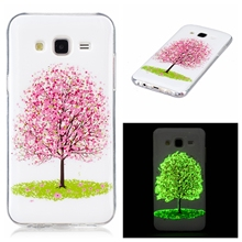 Luxury Case For Samsung Galaxy J5 J7 2015 J500 J700 J500FN J700F Duos 3D noctilucent Cover Silicon TPU Cute Phone Casing Housing