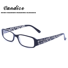Reading Glasses Fashion Spring Hinge Glasses Best Value Laser Patter Temple Withe Diamond Men & Women Glasses for Reading