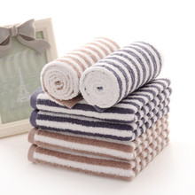 Bath towel 34cm-76 Awati long wool and cotton vertical zebra towel cotton towel wholesale advertising gift towel(China)