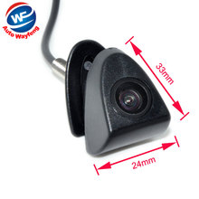 CCD Car Front View Logo Embeded Camera For Toyota Prado Highlander Land Cruis Camry Corolla Yaris VIZI REIZ Verso front camera