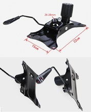 Premintehdw Office Chair Part Seat Plate Bottom Base Replacement Mechanism Control Tilt Lever(China)
