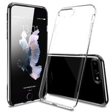 Phone Case For iPhone 7 Soft TPU Transparent Case On The For iPhone 6 6s 7 Plus 5 5S SE Clear Silicone Cover Coque Bumper Shell