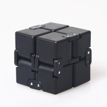 Infinity Magic Cube Finger Fidget Cube Deformable Luxury EDC Fidgeting Toys Square Stress RelieF Focus Game for Autism and ADHD