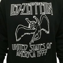 Gildan Led Zepplin Punk Rock Band Graphic Hoodie