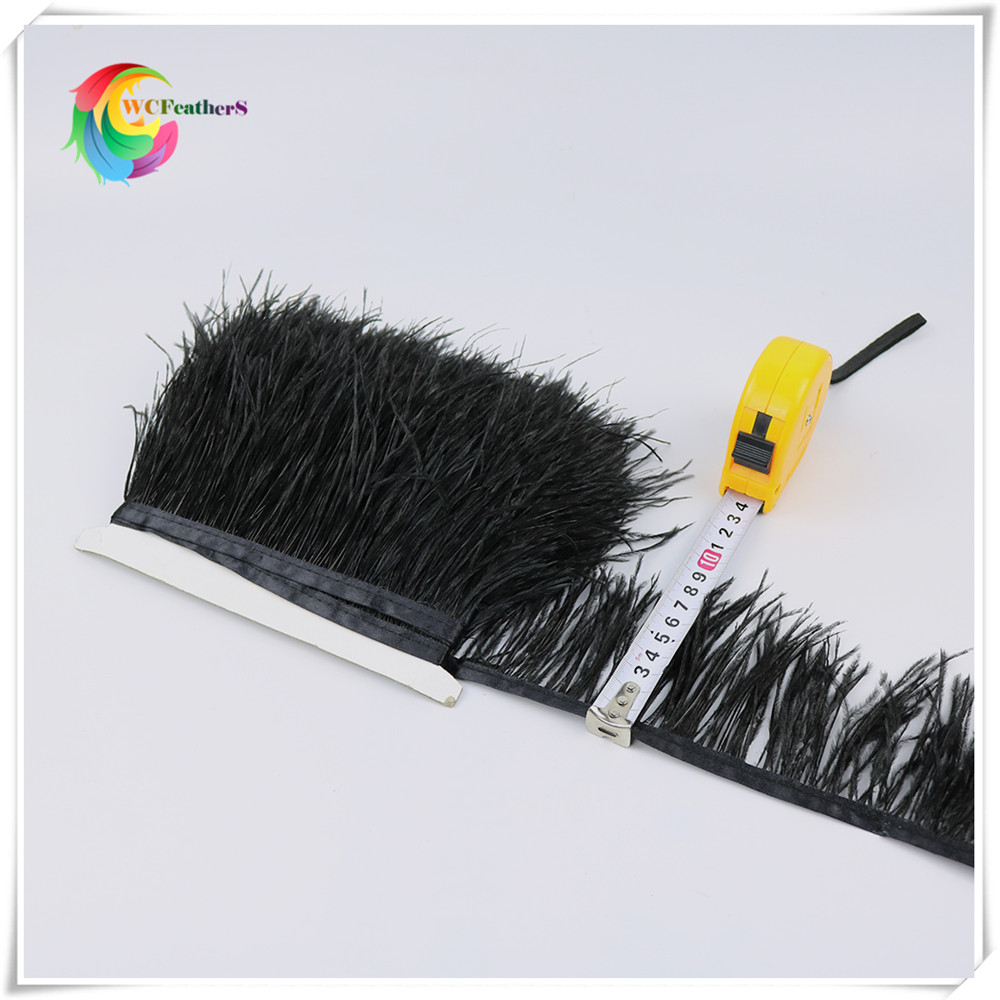 O14 8-10cm ostrich feather trims 5