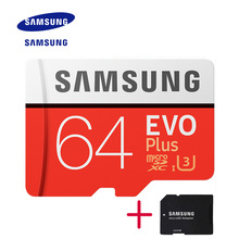 New Product Original SAMSUNG EVO Memory Card Micro SD TF Card 64GB Class10 U3 4K HD Read speed up to 100 MB/s (2017 Model)(China)