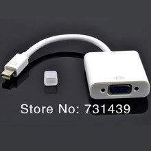 High quality Mini Display  Port DP to VGA Converter Adapter Cable For Mac iMac MacBook Pro