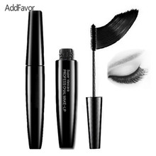 AddFavor Natural Black Volume Mascara Eyelash Enhancer Curling Dye Waterproof Thick Eye Mascara Cosmetic Beauty Makeup Tools(China)