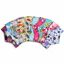 Reusable Washable Super Absorbent Feature Bamboo charcoal Sanitary Pads Menstrual Pad Cloth Sanitary Postpartum Sanitary Napkin