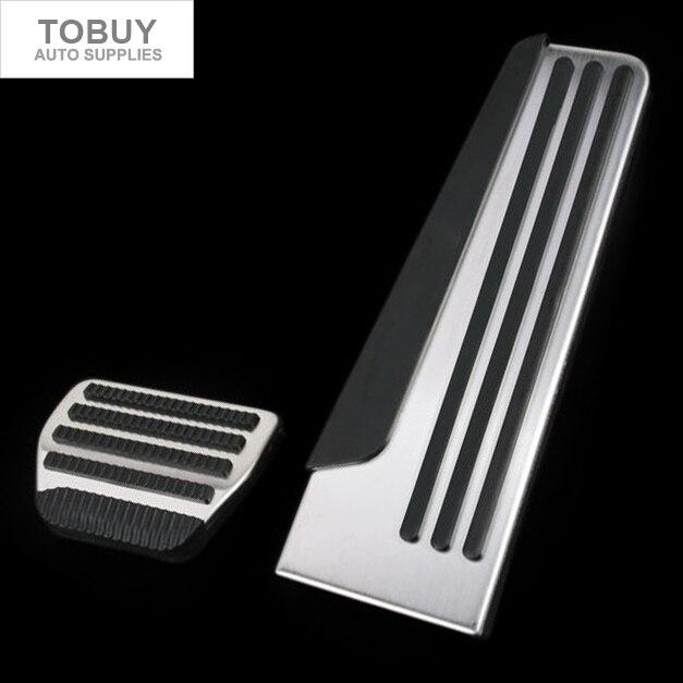 TTCR-II Stainless For Infiniti EX/FX/G37/M25/Q50/Q60/Q60S/Q70/Q70L/QX50/QX56/QX70 Accelerator Brake Footrest Pedal Pad Stickers<br>