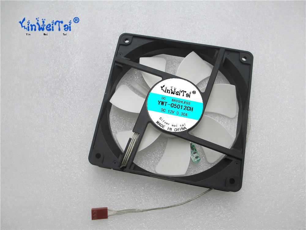 CPU Laptop Cooling Fan FOR CMP-FAN50TEXT 12V 0.5A 12025 12X12X2.5CM Speed control light CPU cooling fan<br>