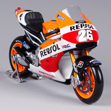 MAISTO 1:10 Honda Repsol RC213V Marc Marquez NO 93 MOTORCYCLE BIKE DIECAST MODEL TOY NEW IN BOX 31406(China)