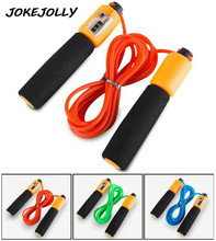 precision Counting Rope, Rope length 2.8m PVC material ABS counter PP handle.Gym Fitness Jump Ropes GYH(China)