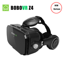 (Ship From RU) BOBOVR Z4 Mini Virtual Reality 3D glasses Cardboard 120 Degrees FOV  VR Box Headset 3D with Bluetooth Remote