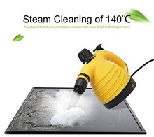Free Shipping Portable Electric Steam Cleaner Multifunction HTHP Handy Steamer Household Vapor Cleaner 220V For Home and travel(China)