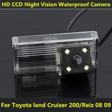 For Toyota land Cruiser 200 LC200 2010 2011 2012 2014 Reiz 2008 2009 Car CCD Night Vision LED Backup Rear View Camera Waterproof