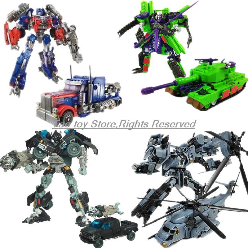 NEW fireburst Optimus Prime Trailer ironhide Blackout G2 megatron starscream BANZAITRON Bludgeon Transformation Action Figures<br><br>Aliexpress