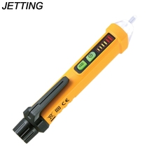 1PCS Portable Non-contact AC Voltage Tester Pen Shaped Detector with Light Non-Contact Electric Volt Alert Detector Sensor