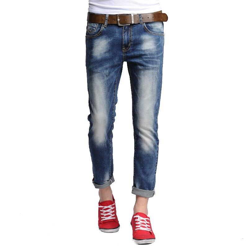 Male Jeans Skinny Cotton Points Designer Jeans for Mencasual Clothing Straight Sweatpants Mens Denim Slim Leisure Pants Одежда и ак�е��уары<br><br><br>Aliexpress