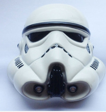 3D Star Wars Stormtrooper Helmet White Color Belt Buckle