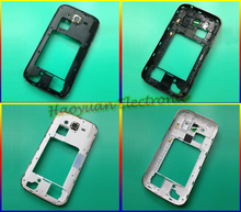 HAOYUAN.P.W White/Black Original New Middle Plate Frame Bezel Panel Back Housing Cover Case For Samsung Galaxy Grand Neo i9060(China)